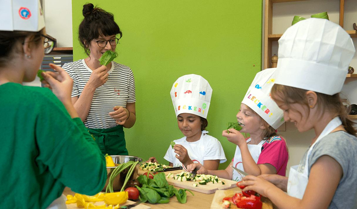 Kinderleicht München Kochkurs