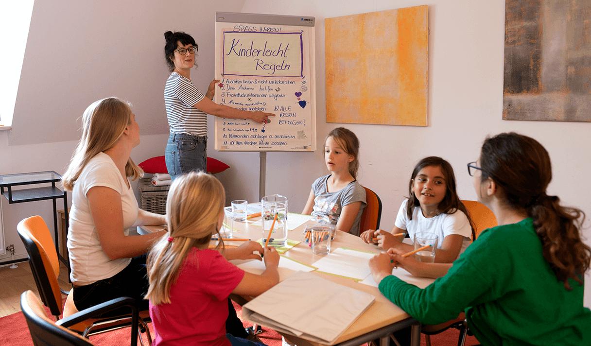 Kinderleicht München Regeln